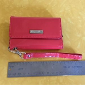 Kate Spade bright red cell phone wallet